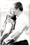 Het houden van paar het kijken Royalty-vrije Stock Fotografie