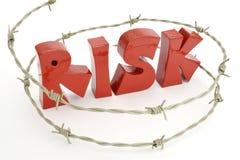 Het houden van risico onder beheer en controle Royalty-vrije Stock Foto