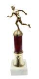 Het houden van van de trofee kop Stock Afbeeldingen