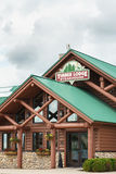 Het hout brengt Steakhouse onder Stock Afbeelding