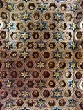 Het hout coffered plafond Royalty-vrije Stock Foto's