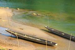 Het hout van de boot Stock Afbeeldingen