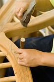 Het hout van de gravure