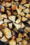Het hout van de stapel Stock Afbeelding