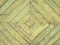 Het hout van Grunge. De vorm van de diamant royalty-vrije stock foto