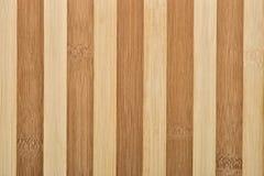 Het hout van het bamboe Stock Afbeelding