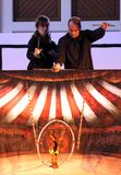Het houten circus van Karromato in Bahrein, 29 Juni, 2012 Royalty-vrije Stock Fotografie