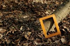 Het houten frame Royalty-vrije Stock Afbeeldingen