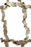 Het houten frame van de afwijking Stock Afbeelding