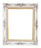 Het houten geïsoleerdel frame van het fotobeeld Stock Afbeeldingen