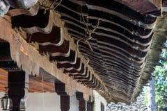 Het houten Klooster van patronentroyan, Bulgarije Royalty-vrije Stock Afbeeldingen