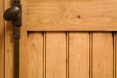 Het houten met panelen bekleden Stock Foto's
