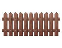 Het houten Omheining geïsoleerde vectorontwerp van het symboolpictogram Mooie illus vector illustratie