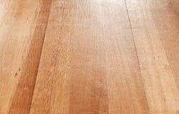 Het houten perspectief van de parketbevloering Stock Foto