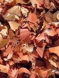 Het houten scheren stock foto