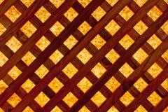 Het houten Scherm Stock Afbeelding