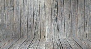 Het houten van de de muurvloer ruimte van de achtergrondbehang uitstekende textuur houten donkere bruine ontwerp Royalty-vrije Stock Foto's