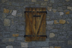 Het houten venster royalty-vrije stock foto's