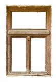 Het houten venster van Grunged Stock Foto