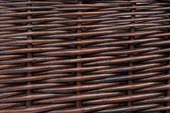 Het houten vlechten Stock Afbeeldingen