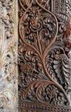 Het houtsnijwerkart. van Bali Stock Foto