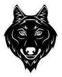Het huilen van de wolf Stock Afbeeldingen