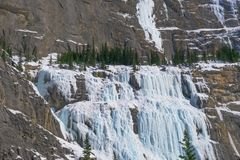Het huilen van muur in het Nationale park van Banff, Canada Royalty-vrije Stock Fotografie