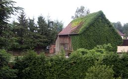 Het huis stock foto