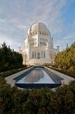 Het huis Baha'i van Verering in Chicago stock foto
