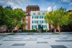 Het Huis Blair House van de Voorzitters` s Gast in Washington, gelijkstroom stock afbeelding