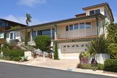 Het huis Californië van puntloma resodential. Stock Afbeeldingen