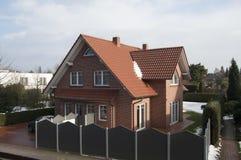 Het huis in Duitsland Royalty-vrije Stock Afbeelding