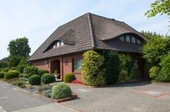 Het huis in Duitsland Stock Afbeelding