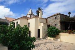 Het huis en de binnenplaats van Columbus - Porto Santo Royalty-vrije Stock Fotografie