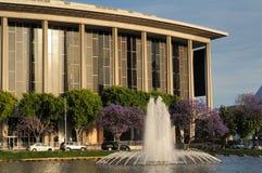 Het huis en de fontein van de opera Royalty-vrije Stock Foto's