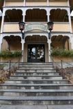 Het huis en het postkantoor van Santa Claus Royalty-vrije Stock Foto's