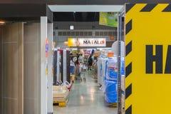 Het huis Expo van de tentoongesteld voorwerpzaal Stock Fotografie