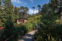Het Huis Gramado Brazilië van Kerstmis Royalty-vrije Stock Afbeeldingen