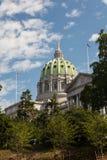 Het Huis & het Capitool de Bouw van de Staat van Pennsylvania, Harrisburg Stock Afbeeldingen