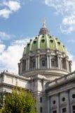 Het Huis & het Capitool de Bouw van de Staat van Pennsylvania, Harrisburg Stock Foto's