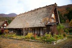 Het huis in istoric dorp shirakawa-gaat Royalty-vrije Stock Fotografie