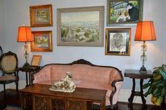 Het Huis Key West Florida van binnenlandse Ernest Hemingway Stock Afbeelding