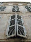 Het huis in La Rochelle Stock Fotografie