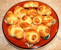 Het huis maakte broodjes Stock Afbeeldingen
