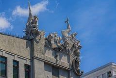 Het huis met Chimèren is een Art Nouveau-gebouw Stock Afbeelding