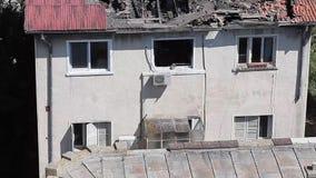 Het Huis met Leeuwen Constanta Roemenië stock videobeelden