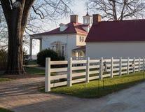 Het huis Mount Vernon van George Washington stock foto