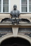 Het huis-museum van Tsjechische historicus frantiÅ ¡ ek palackà ½ in Praag royalty-vrije stock afbeelding