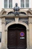 Het huis-museum van Tsjechische historicus frantiÅ ¡ ek palackà ½ in Praag stock foto's