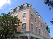 Het Huis Nassau de Bahamas van Ansbacher Stock Foto's